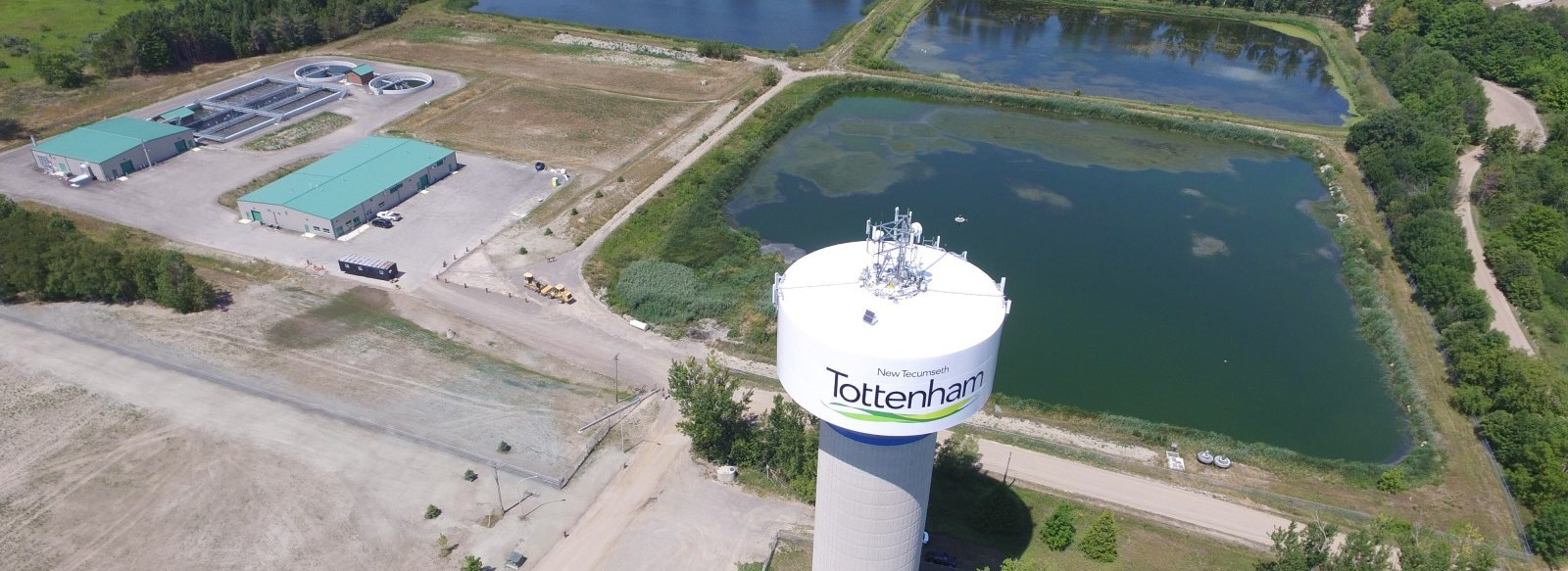 Tottenham Water Tower and Wastewater Treatment Plant